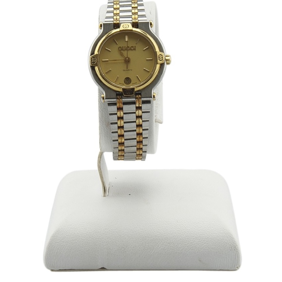 af502c8f0c2 Gucci Accessories - Gucci 9000L Stainless Steel 2-Tone Watch 140891